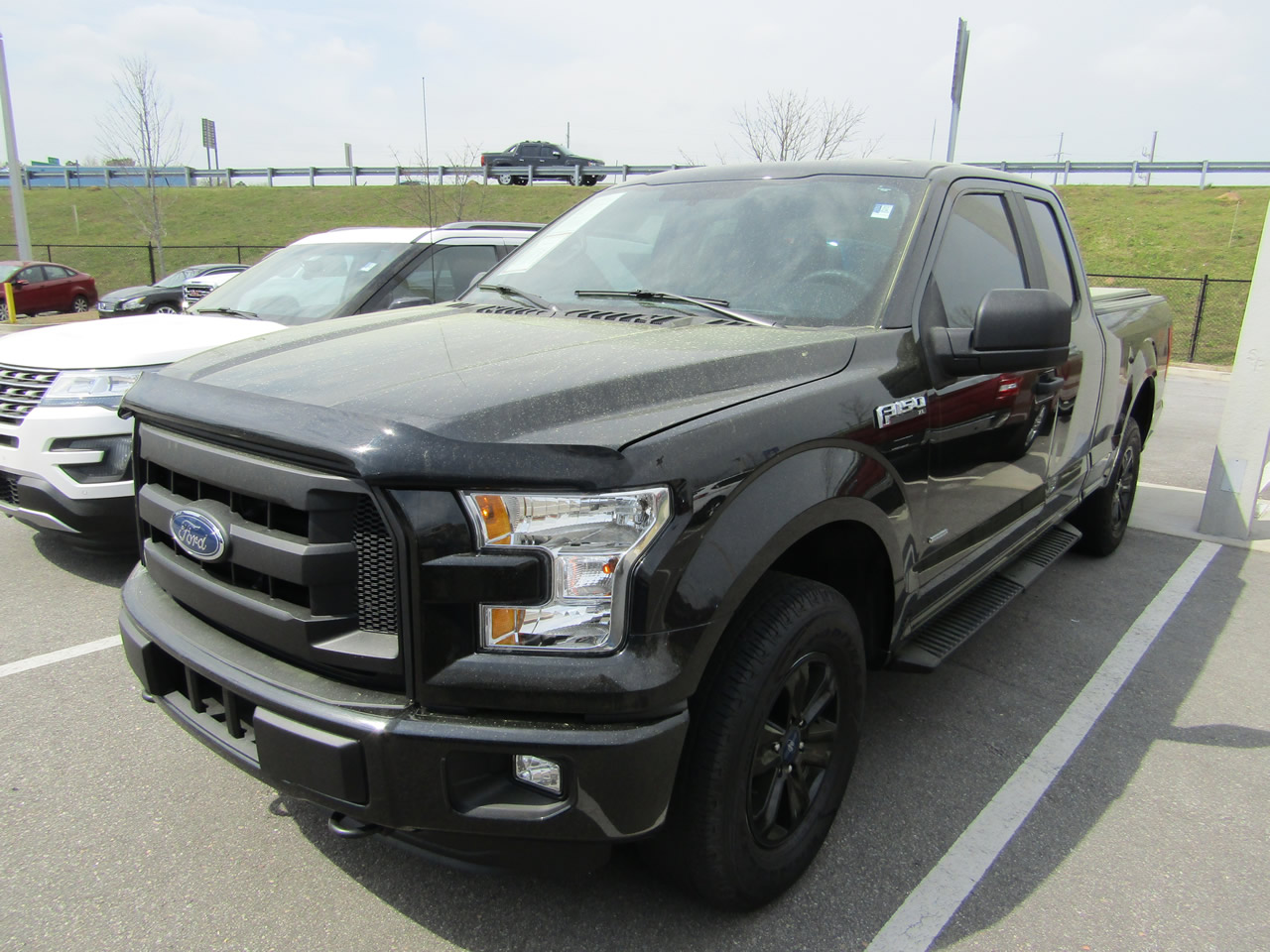 2015 FORD F-150 SUPERCAB 4WD