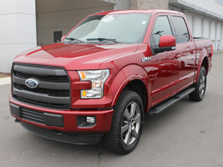 2016 FORD F-150 SUPERCREW LARIAT 4WD