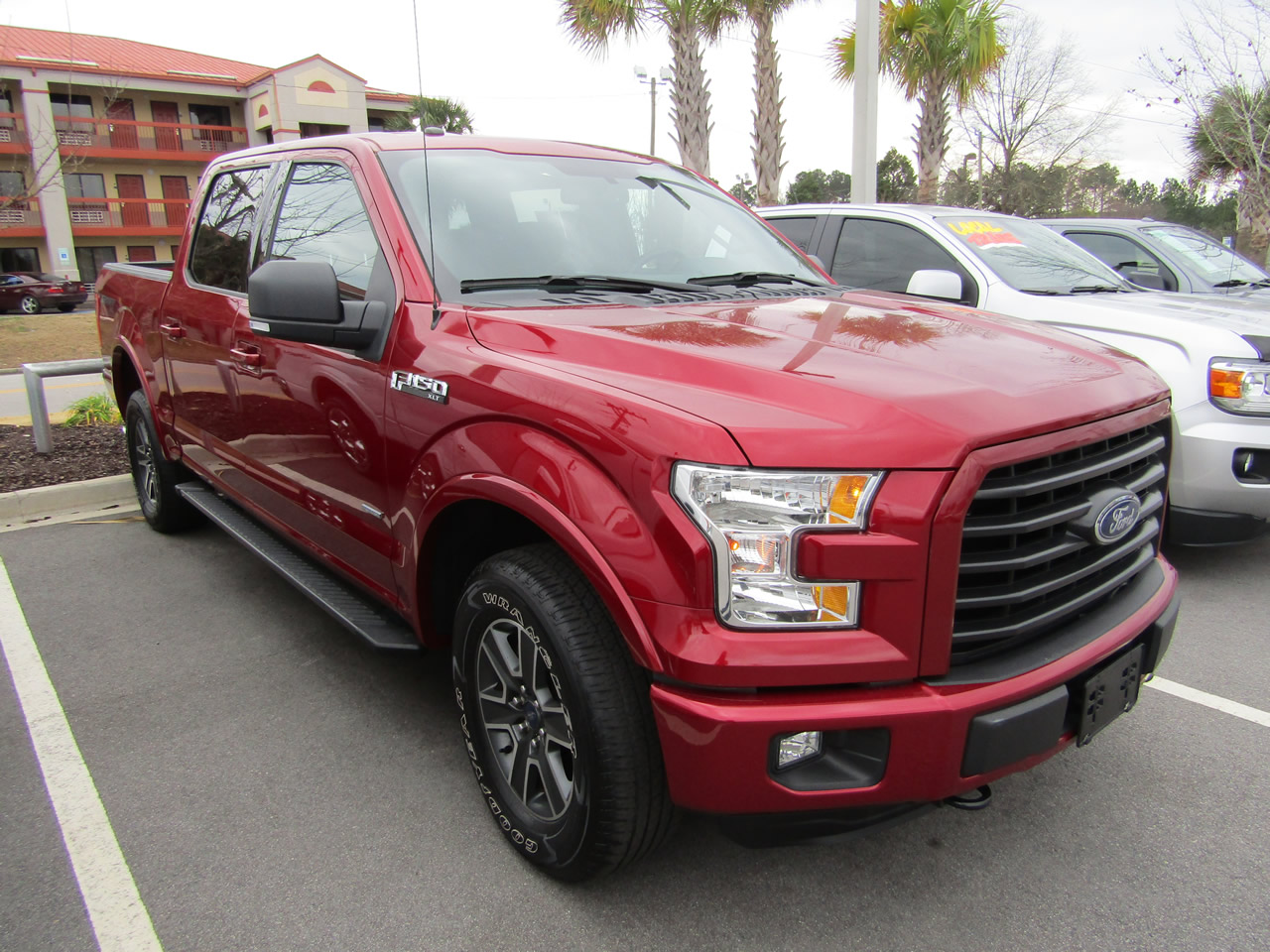 2016 FORD F-150 SUPERCREW XLT SPORT 4WD