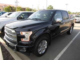 2017 FORD F-150 SUPERCREW PLATINUM FX4 4WD