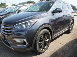 2017 HYUNDAI SANTA FE SPORT 2.0T Ultimate AWD Dick Smith Ford serving Columbia, Sumter, Orangeburg, West Columbia, Lexington, Newberry, Lugoff SC, Selling new Ford cars and trucks and used vehciles in Columbia, SC