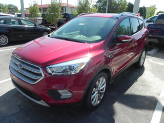 2017 FORD ESCAPE TITANIUM EcoBoost Dick Smith Ford serving Columbia, Sumter, Orangeburg, West Columbia, Lexington, Newberry, Lugoff SC, Selling new Ford cars and trucks and used vehciles in Columbia, SC