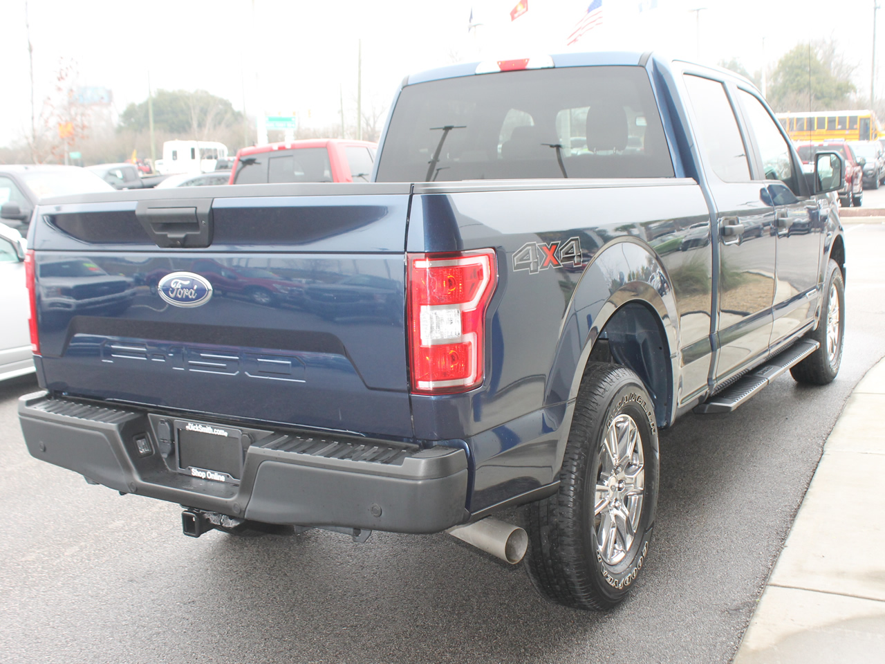 2018 FORD F-150 SUPERCREW XL 4WD