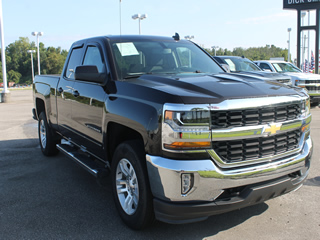 2018 CHEVROLET SILVERADO K1500 LT Double Cab 4WD Dick Smith Ford serving Columbia, Sumter, Orangeburg, West Columbia, Lexington, Newberry, Lugoff SC, Selling new Ford cars and trucks and used vehciles in Columbia, SC
