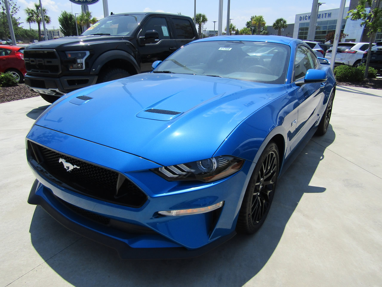 d5eb3f076 NEW 2019 FORD MUSTANG GT PREMIUM VIN 1FA6P8CF8K5166279 - DICK SMITH ...