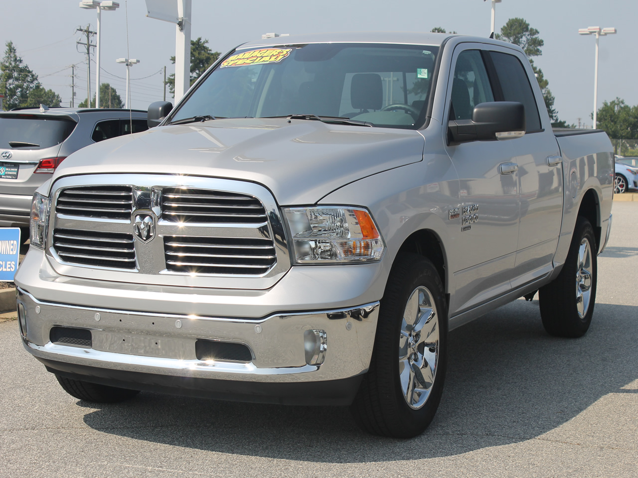 2019 DODGE RAM 1500 Crew Cab BIG HORN 4WD