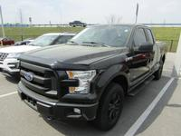2015 FORD F-150 SUPERCAB XL FX4 4WD
