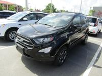 1: USED 2018 FORD ECOSPORT SES AWD