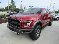 NEW 2018 FORD F-150 RAPTOR SUPERCREW 4WD