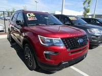 NEW 2018 FORD EXPLORER SPORT 4WD